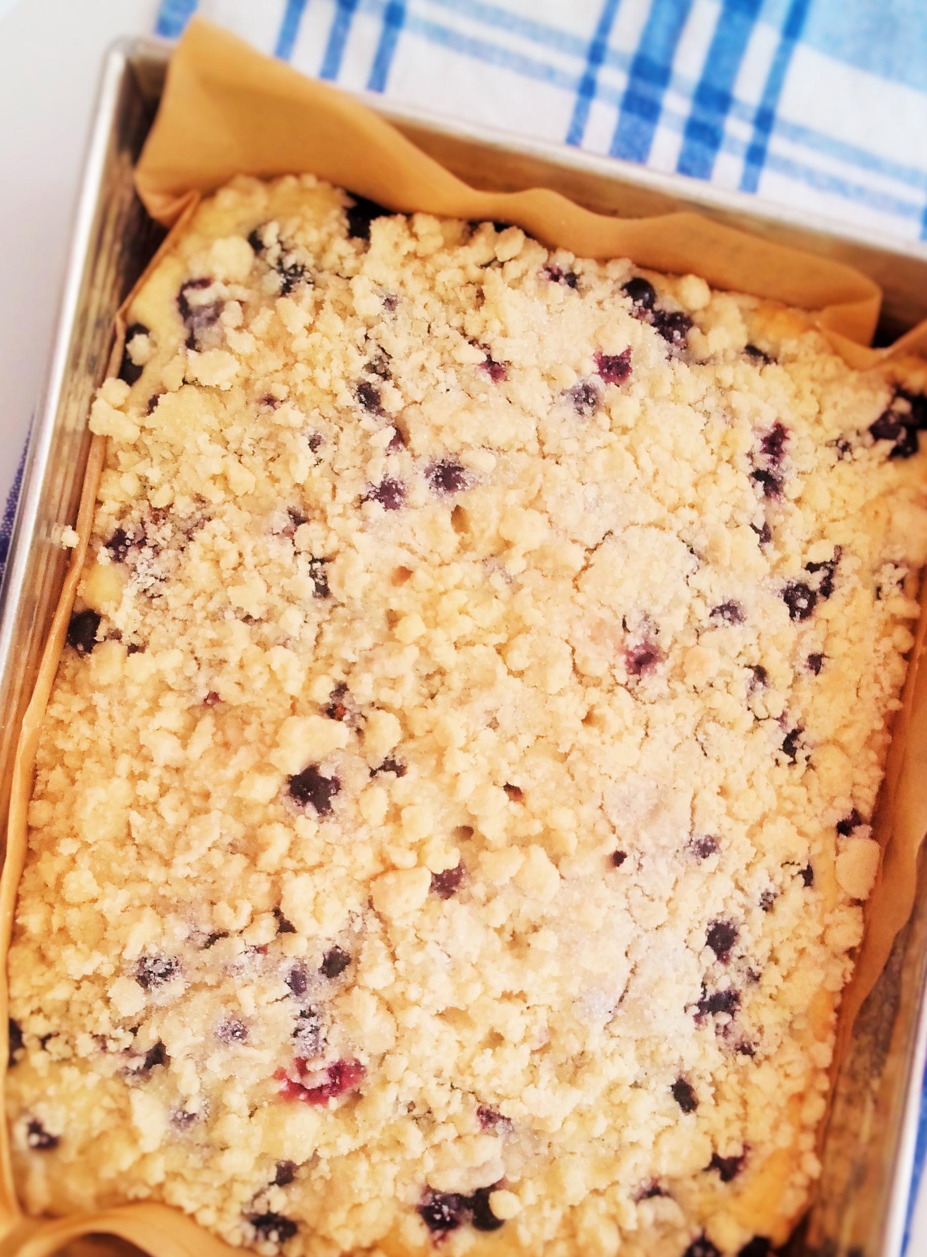 Maślankowe ciasto, kruszonka i nieprzygotowanie