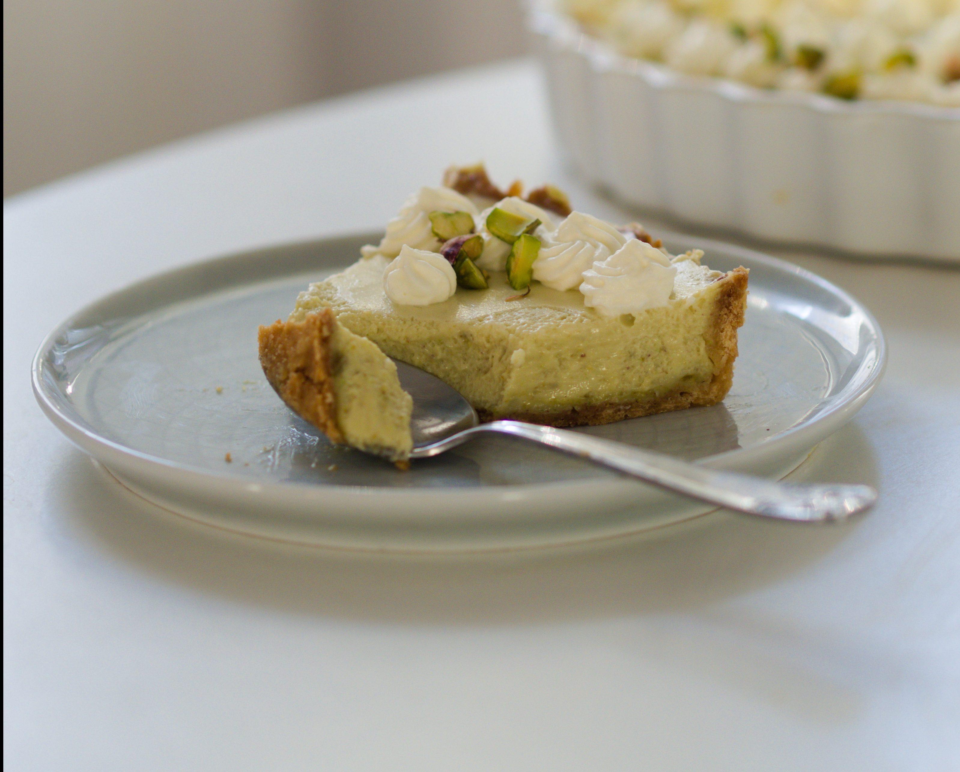 Wyborna tarta pistacjowa